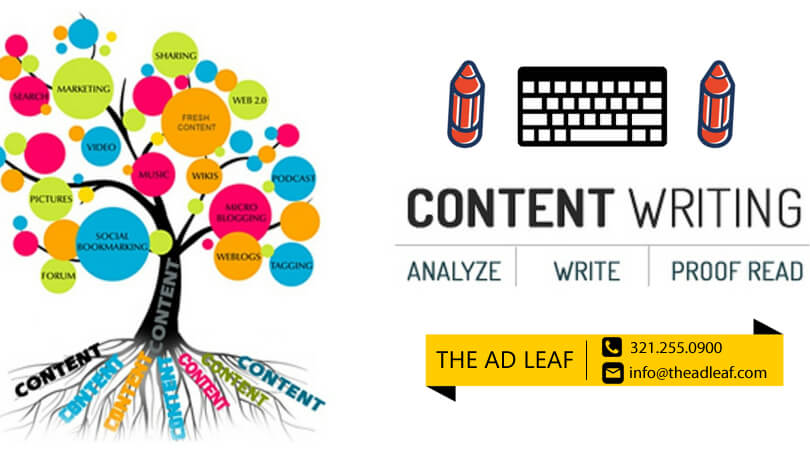 writing content | Content Writing Florida | The AD Leaf
