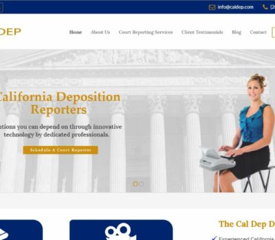 california deposition reporters