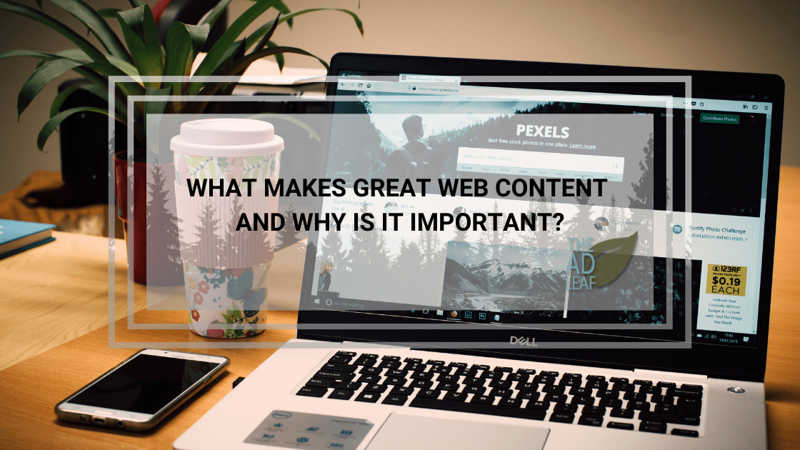 What Makes Great Web Content